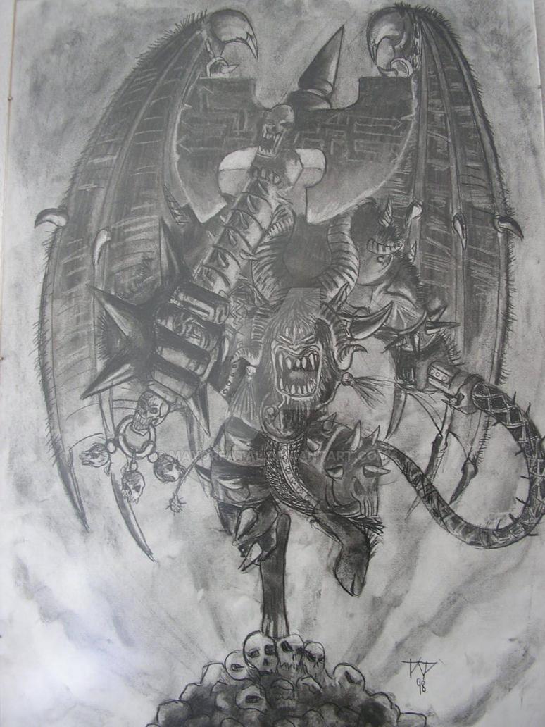 Demonio del Caos by MayorFatal