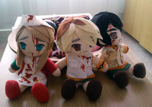 Silent Hill plushies