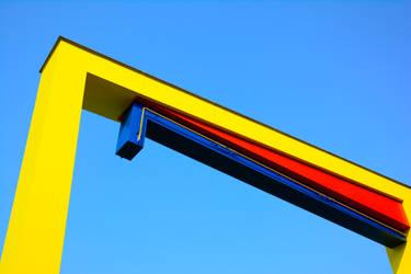 Yellow gate by iiyamaline