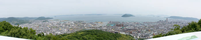 Panorama view - Takamatsu by iiyamaline