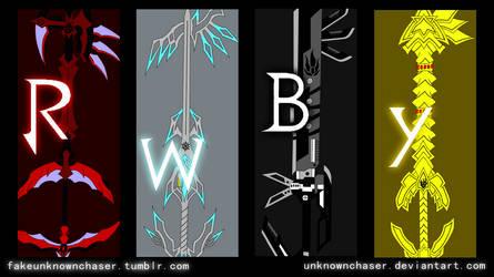 RWBY Keyblade by UnknownChaser