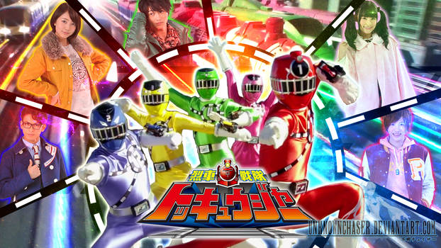 Ressha Sentai ToQger Wallpaper