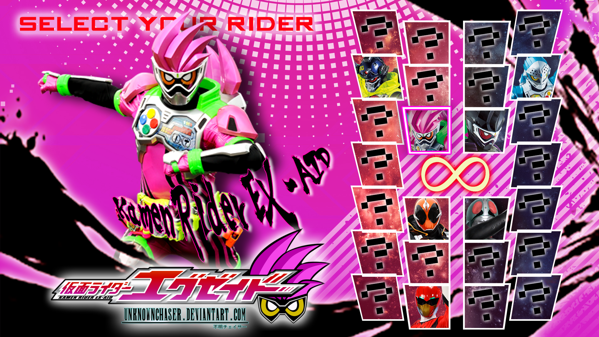 Kamen Rider Ex Aid Wallpaper By Unknownchaser On Deviantart