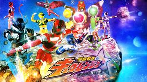 Uchu Sentai Kyuranger Wallpaper