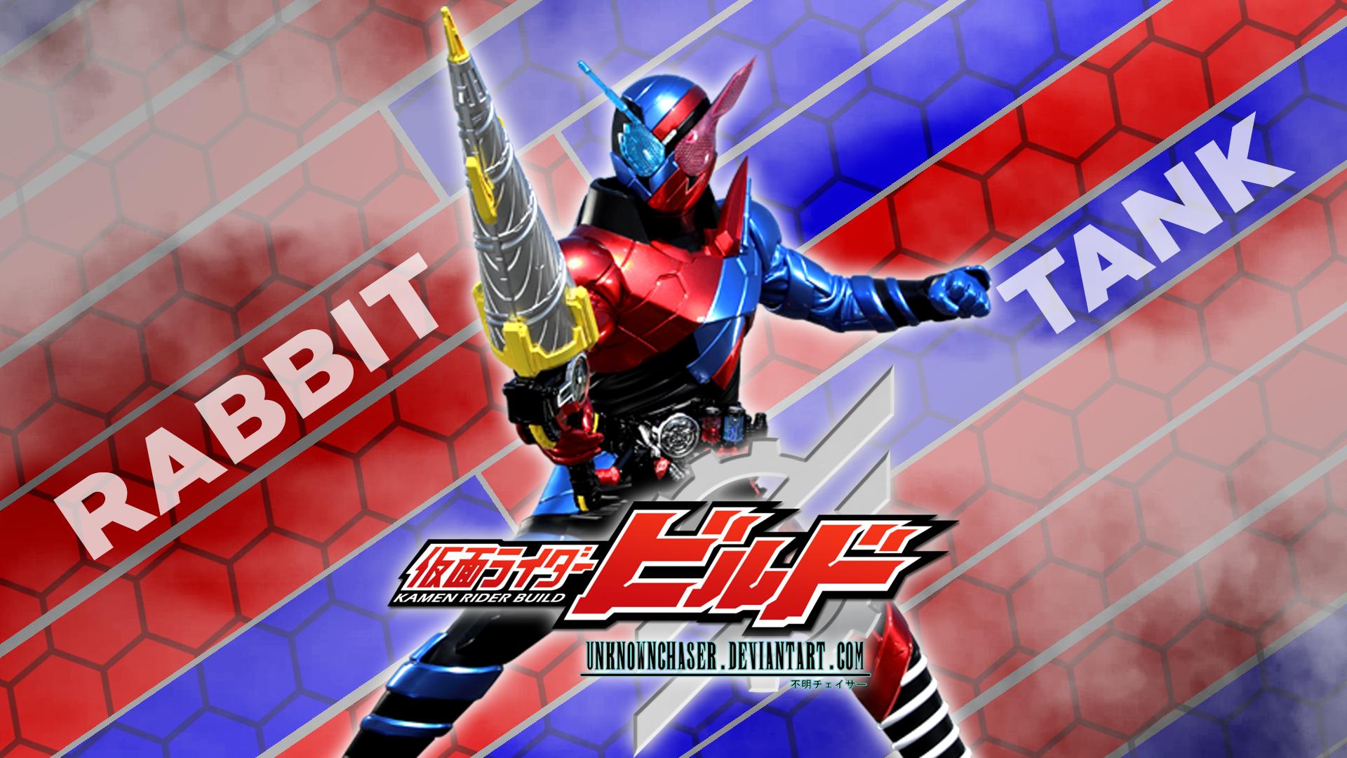Kamen Rider Build Rabbittank Wallpaper By Unknownchaser On