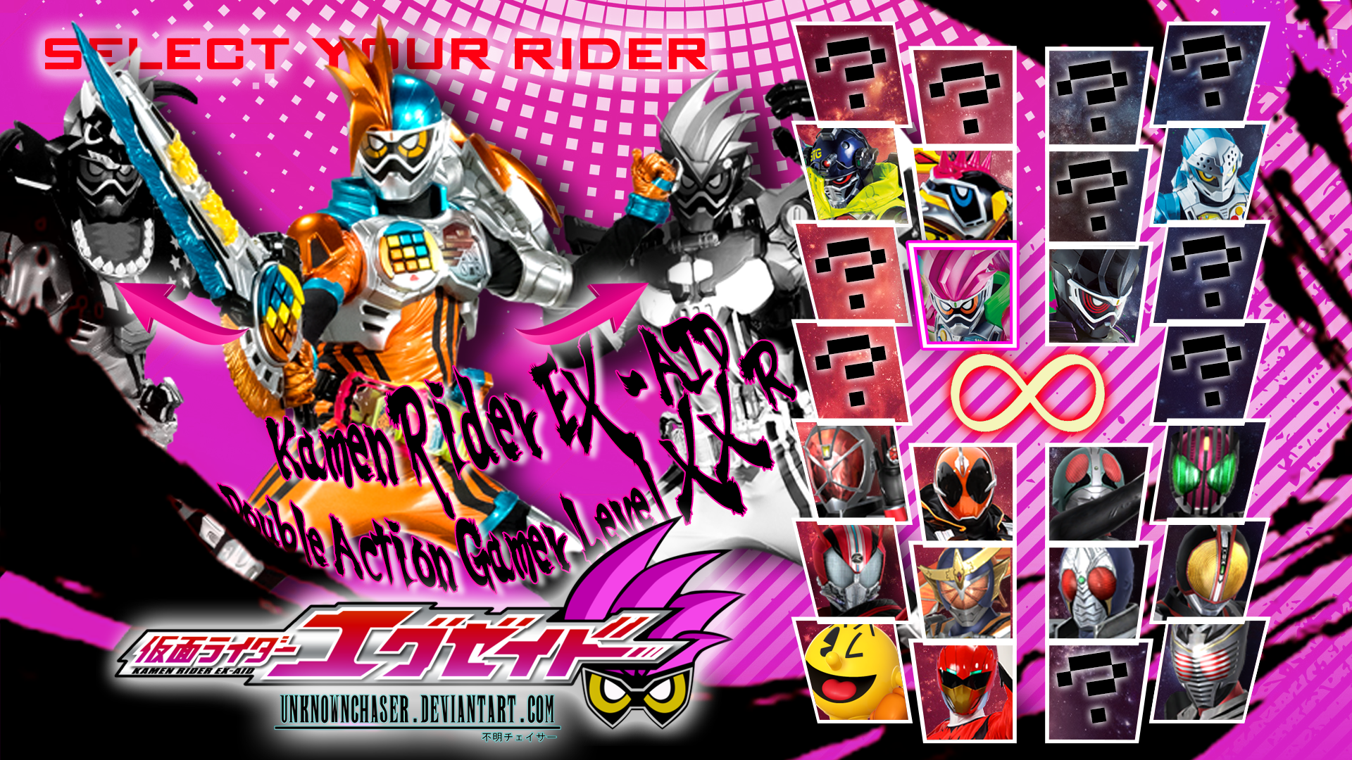 Kamen Rider Ex Aid Level Xx R Wallpaper By Unknownchaser On Deviantart