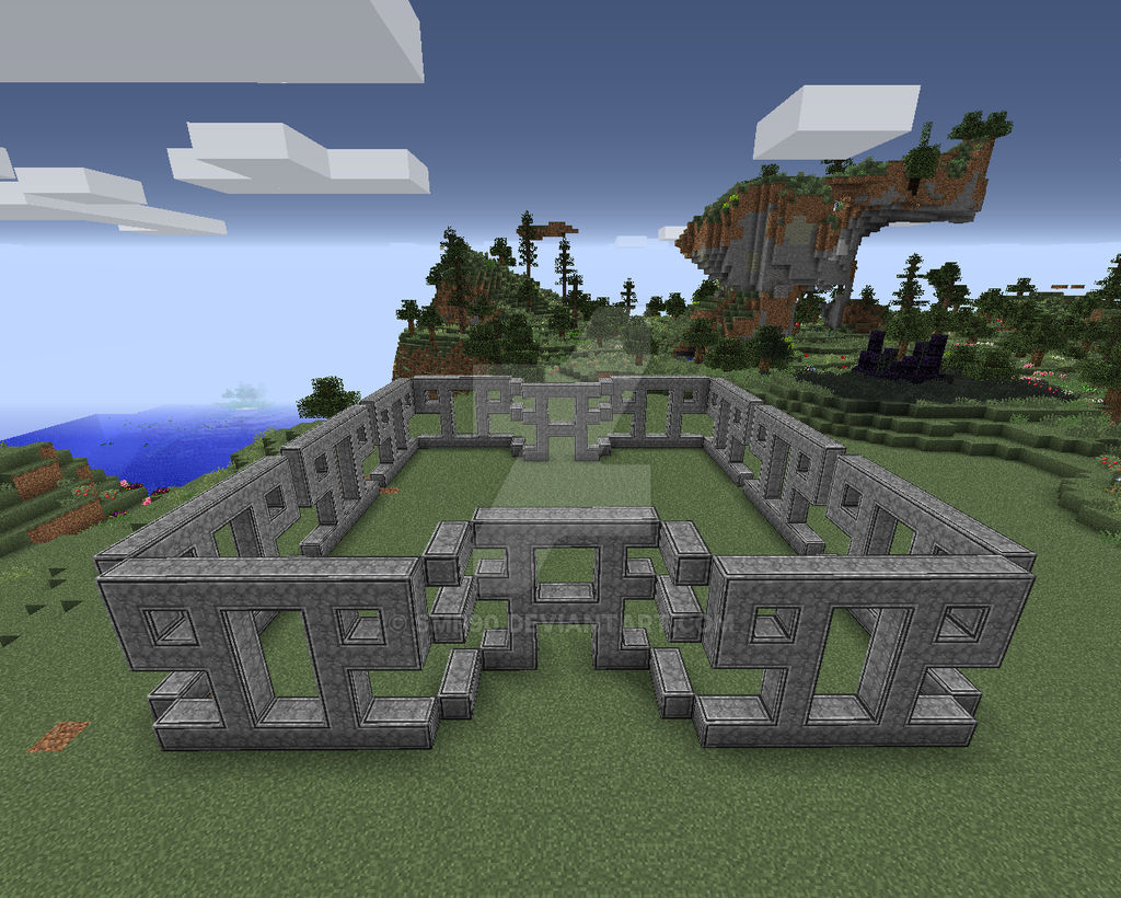 My Modded Minecraft Build: House (Incomplete) by smb90 on