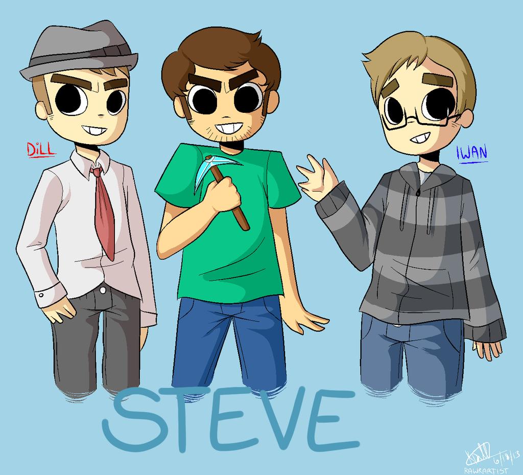 Steve (Minecraft) by RawrArtist on DeviantArt