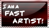 Fast artist stamp
