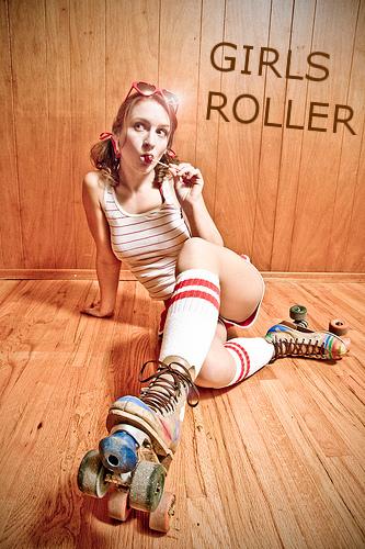 ROLLER GIRLS by seoane40