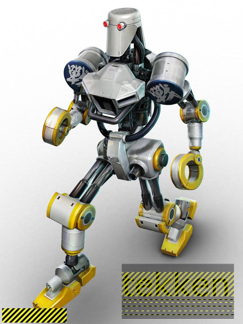 robot tekken by seoane40