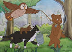 Little Bear: Going Fishing by LMColver