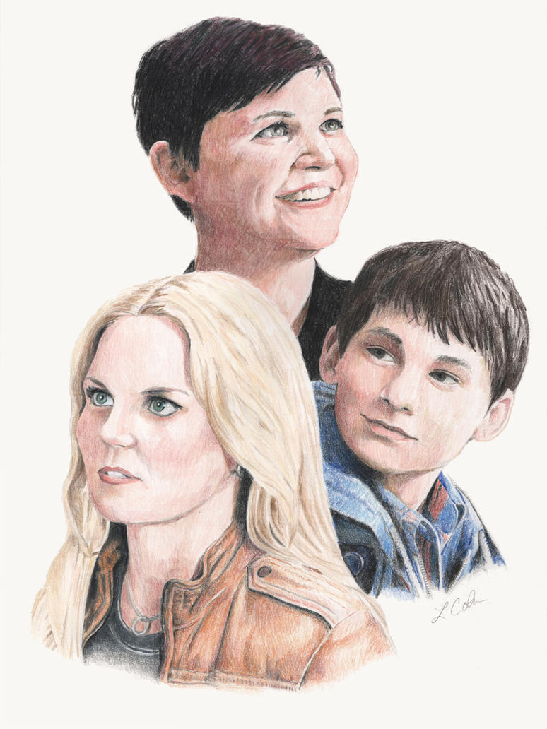 OUAT: Emma, Snow, and Henry by drakkenfan