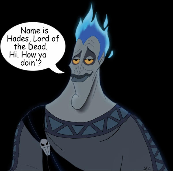 Hades: Lord Of The Dead By LMColver On DeviantArt