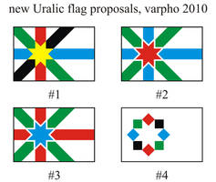 Uralic flag by varpho