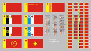 new Soviet flags by varpho