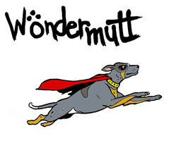 WonderMutt logo by JDBusch