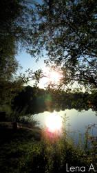 Hidden Lake by LenaRainbow