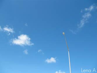 Sky Lantern by LenaRainbow