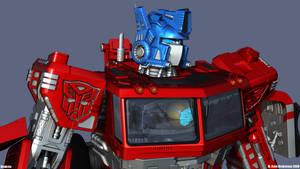 Optimus HD Bot mode 2