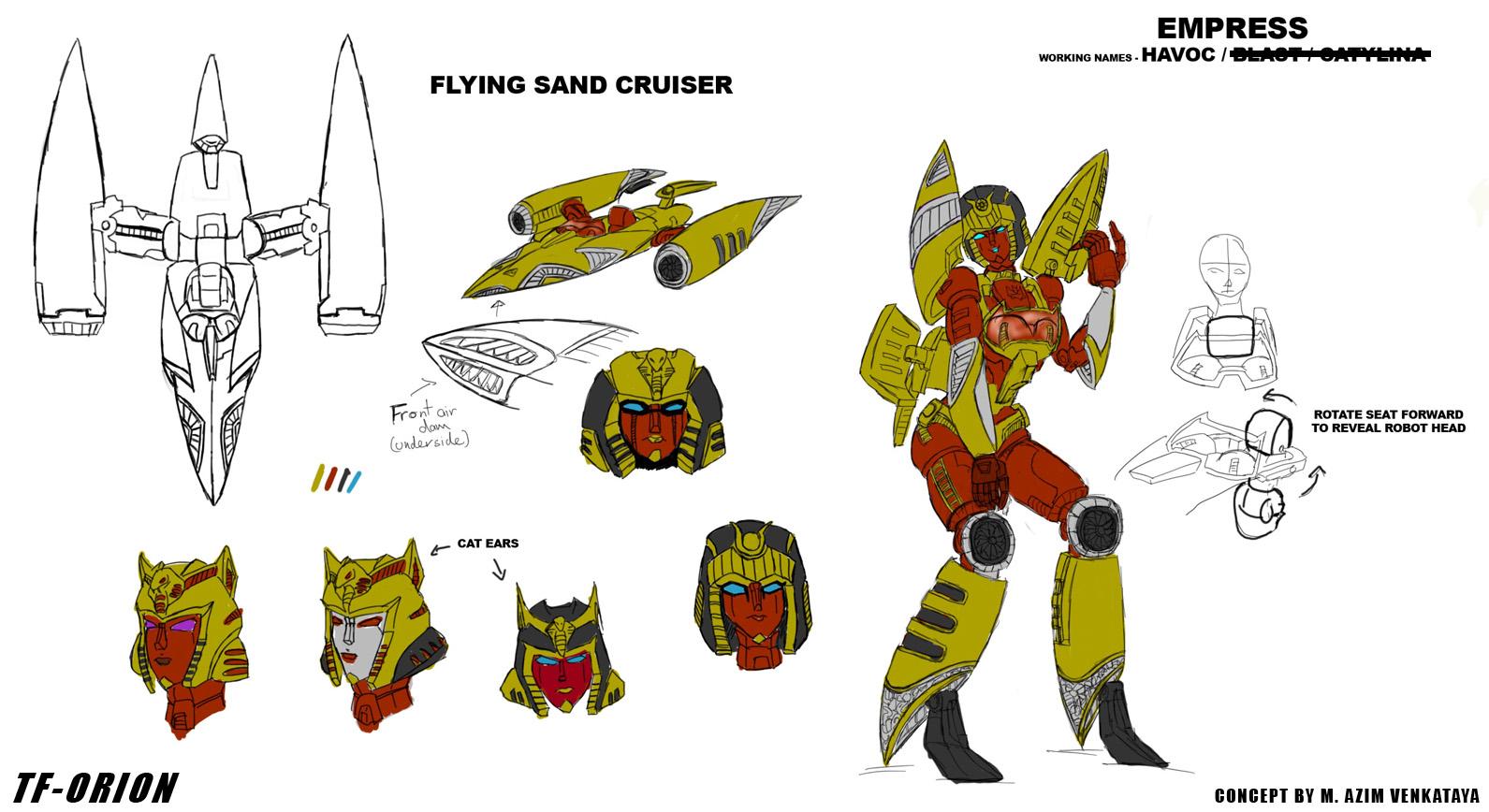 TF-Orion - Empress Havoc