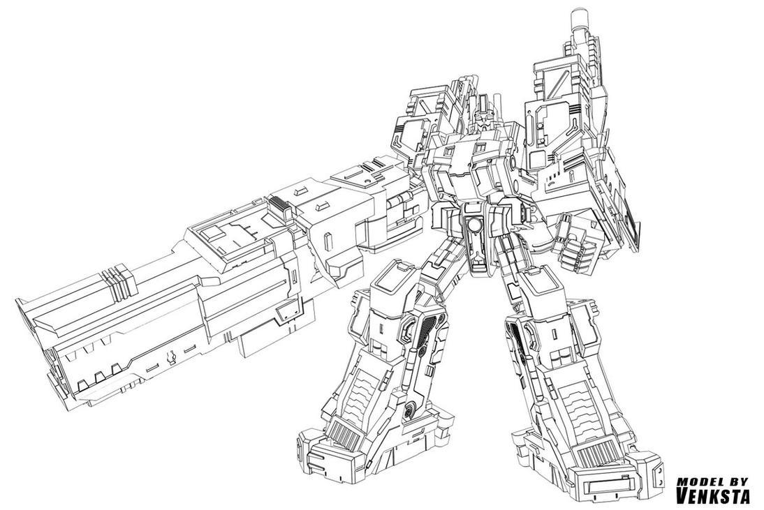 Line Art City : City commander line art by venksta on deviantart