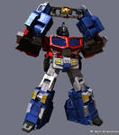 Galaxy Convoy Robot Mode 02