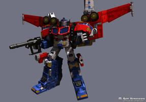 Galaxy Convoy Super Mode 01 by Venksta