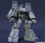 Ultra Magnus Clay Render 01