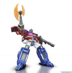 Optimus Prime C-01 by Venksta