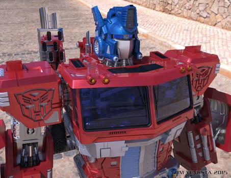 HD Optimus Prime - Keyshot Test + Animation