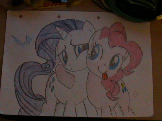 PINKS IS BEST PONY.... AND RARITY.... Only_thing_better_then_the_best_pony_by_marioz1-d5yndgr