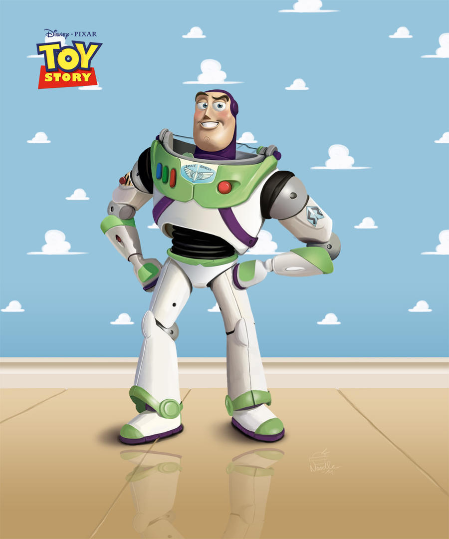 ... Buzz Lightyear   Toy Story By LaNouille