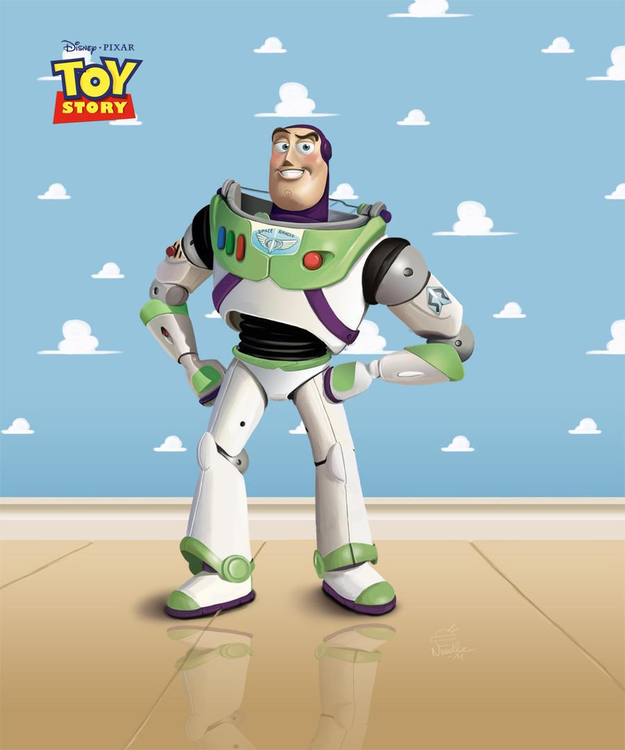 Buzz Lightyear - Toy Story by LaNouille on DeviantArt