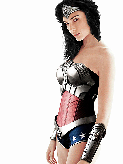 Gal Gadot as Wonder Woman by teagone on DeviantArt