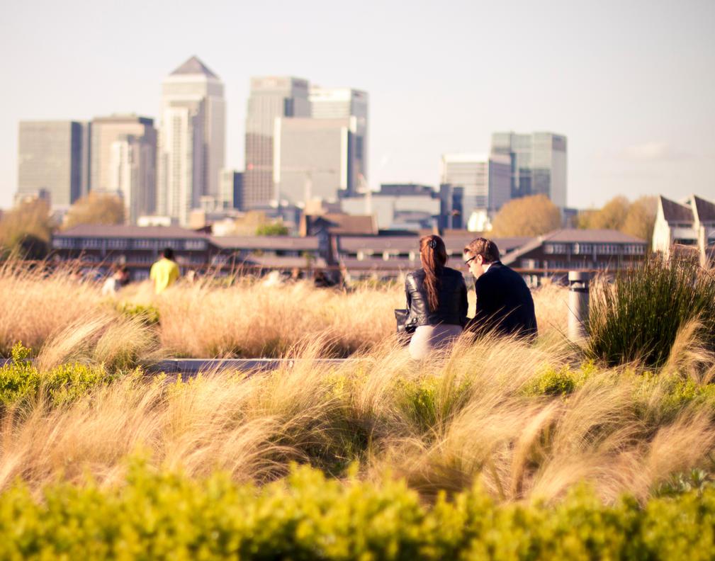 Canary Wharf love by giovannniii