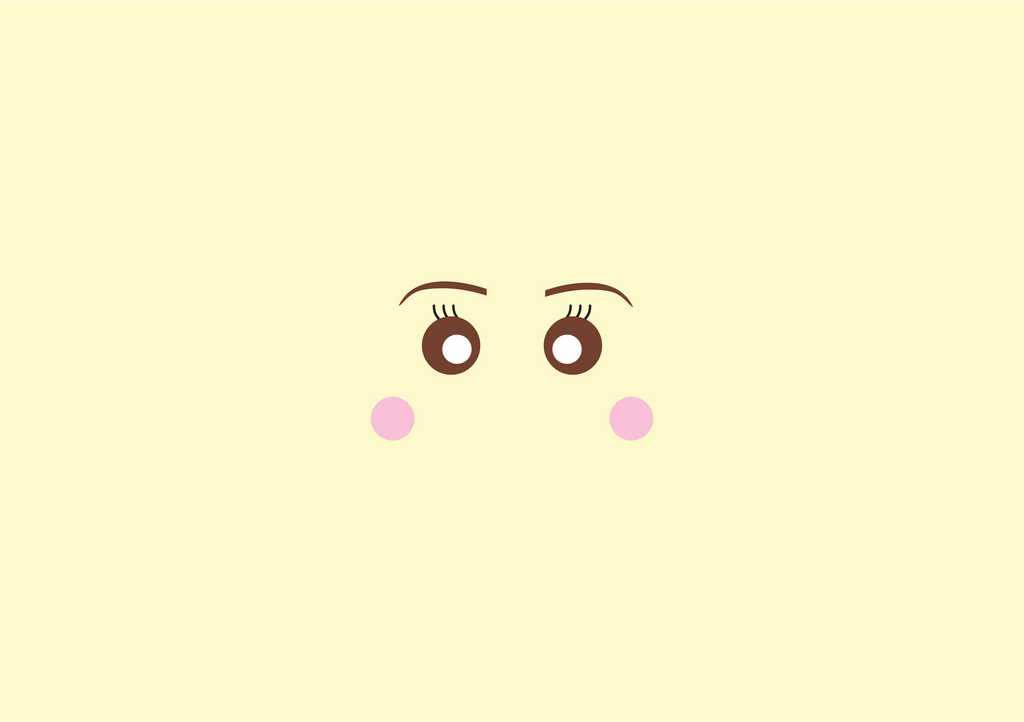 Cutepiemarzia minimalist background by biaichihara on for Deviantart minimal wallpaper
