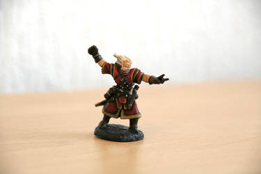 Wizard Miniature by Adiwan