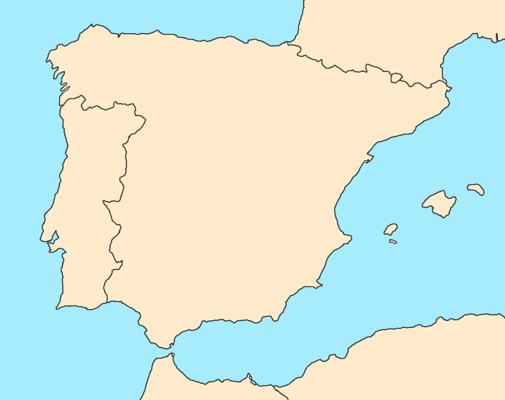 Iberian Peninsula World Map Pics Download