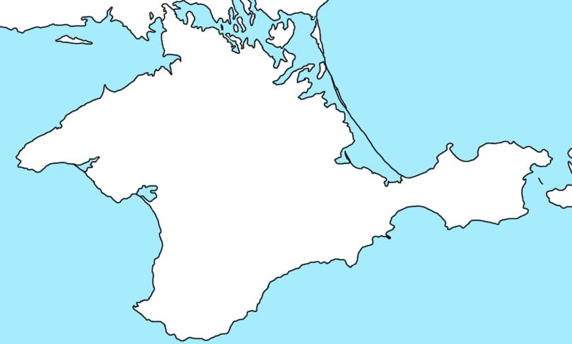 Blank Map of Crimea by xHGTx on DeviantArt