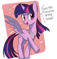 Join the friendship army today! by Aureai