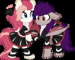 Cheerleader Aureai and Coldfire