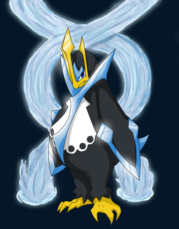 Empoleon by Lizzleby