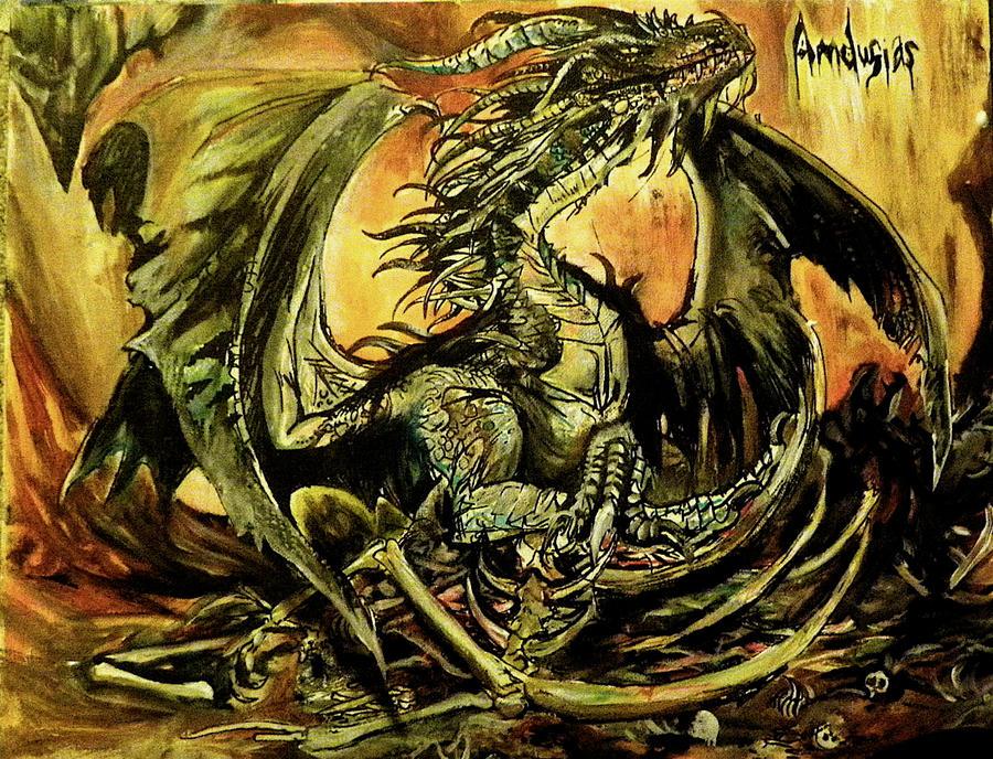 Amdusias, the Boneyard King by lnfectedxangelic