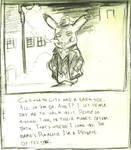Pika Noir Sketch by GarrettVFinazzo