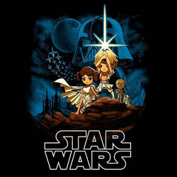 Star Wars: A New Hope (TeeTurtle)