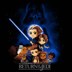 Star Wars: Return of the Jedi (TeeTurtle)