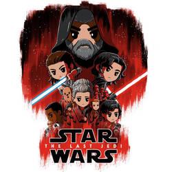 Star Wars: The Last Jedi (TeeTurtle)