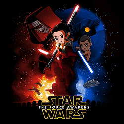 Star Wars: The Force Awakens (TeeTurtle)
