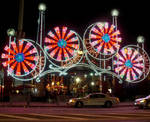 Luna Park Entrance - night